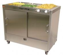 Caterlux Mobile Hot Cupboard with Bain Marie